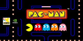 PAC MAN ARCADE game