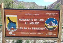 Monumento Natural El Morado abre los fines de semana