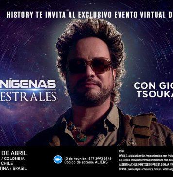 Evento virtual con Giorgio Tsoukalos de Alienígenas Ancestrales