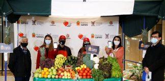Ministerio de Desarrollo Social y Familia y Elige Vivir Sano lanzan aplicación para comprar frutas y verduras de ferias libres a domicilio