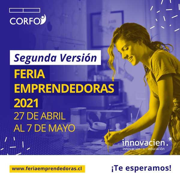Segunda Feria de emprendedoras CORFO