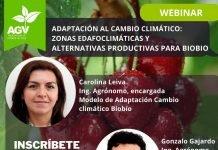 """Webinar """"Adaptación al cambio climático: zonas edafoclimáticas y alternativas de producción"""""""