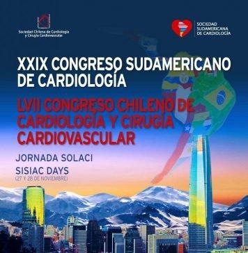 XXIX Congreso Sudamericano de Cardiología. Evento en conjunto con el XXIX Congreso Chileno de Cardiología Cirugía Cardiovascular y la Jornada SOLACI – ECOSIAC DAY