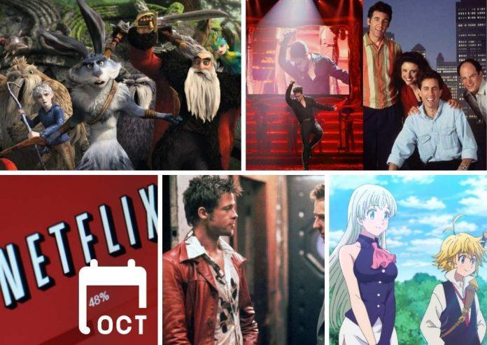 Netflix Octubre series, películas, documentales que se estrenan